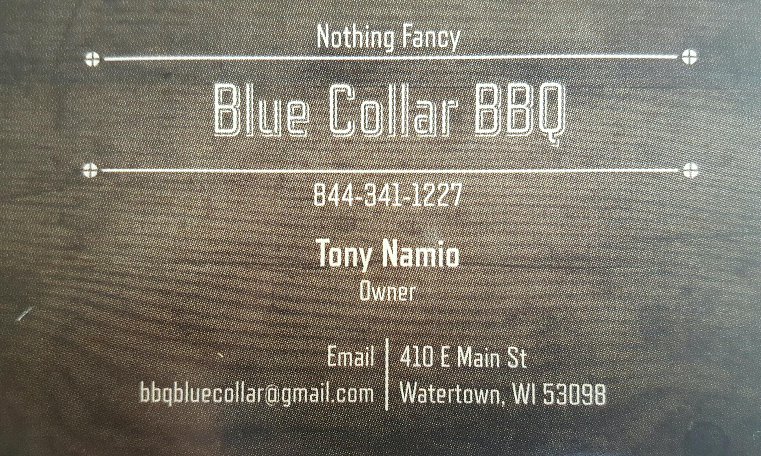 Blue Collar BBQ